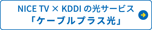 NICE TV×KDDIの光サービス「ケーブルプラス光」