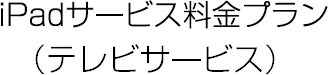 iPadサービス料金プラン(テレビサービス)